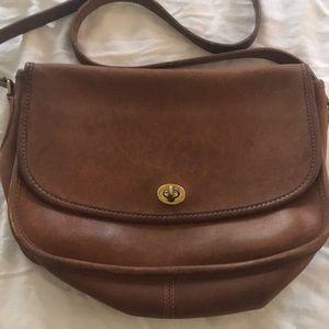 Coach leather crossbody purse